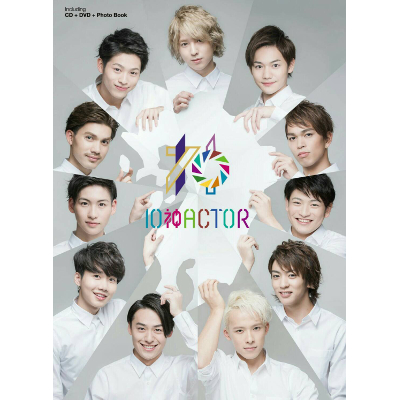 【CD+DVD+PhotoBook】「10神ACTOR」