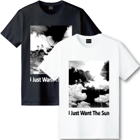 【I Just Want The Sun】Photo Tシャツ