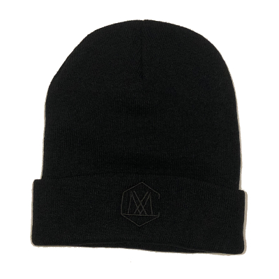 CLMX RECORDS BEANIE / BLACK