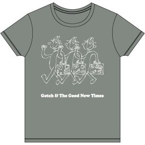 Gotch & The Good New Times Tシャツ [ヘザーグレー]