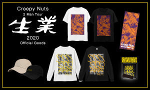 Creepy Nuts 2 Man Tour 生業 2020 Official Goods