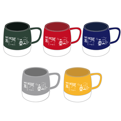ACTIONマグカップ [GREEN / RED / NAVY / GRAY / YELLOW]