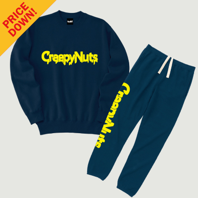 【SALE】Sweat Set [Navy]