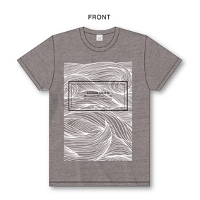 """Sea and The Darkness""Tour T-Shirt(Heather Brown)"