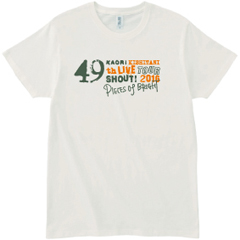 49th SHOUT! -PIECES of BRIGHT- Tシャツ[オフホワイト]