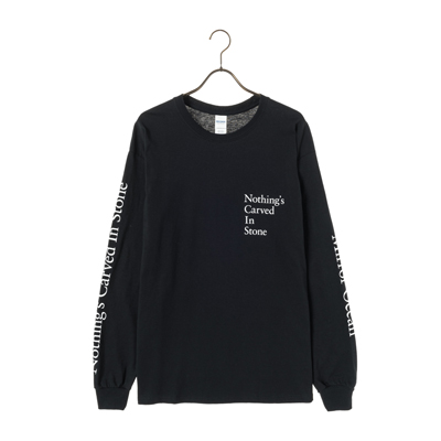 Mirror Ocean Long Sleeve Tシャツ(黒)