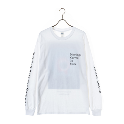 Mirror Ocean Long Sleeve Tシャツ(白)