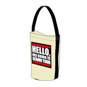 Hello,My name is Tote Bag/White