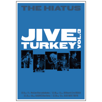 「Jive Turkey vol.3」ポスター
