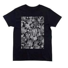 flower T-shirt (Black)