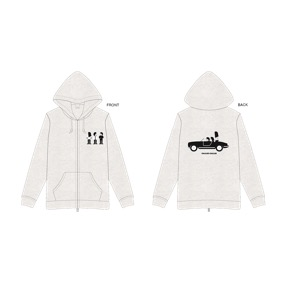 Last Live〜SHARIN NO JIKU〜 Zip-up Hoodie(S)