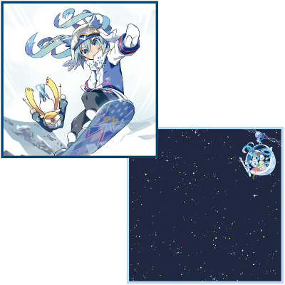 SNOW MIKU 2016 Hand Towel set
