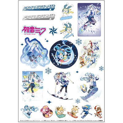 SNOW MIKU 2016 Sticker Sheet