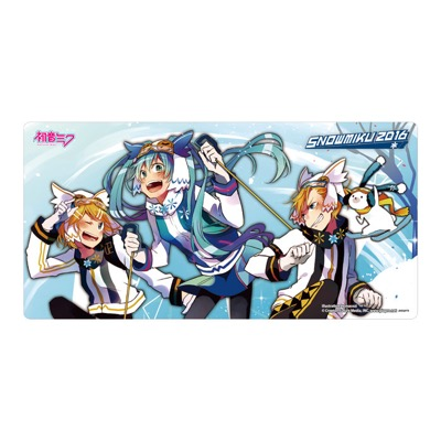SNOW MIKU 2016 Rubber mat