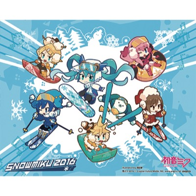 SNOW MIKU 2016 Glass cleaning cloth