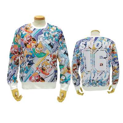 SNOW MIKU 2016 Graphic sweat shirt