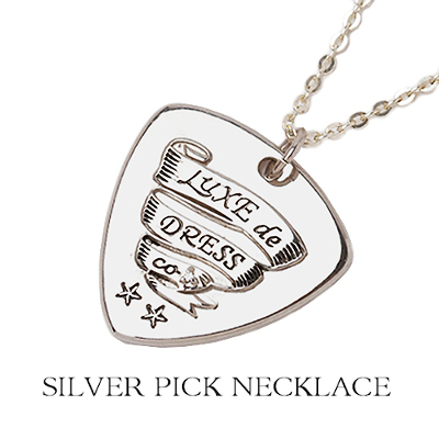 SILVER PICK NECKLACE
