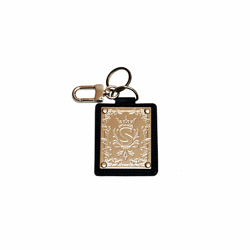 SCAN Plate Tag Keychain BLACK