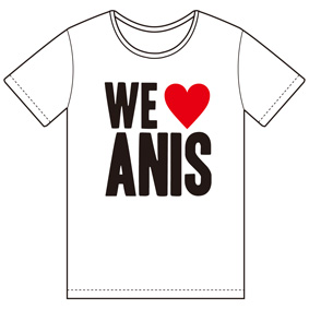 Anis xTommy ��WE LOVE ANIS�� ��WHITE��