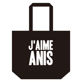 Anis xTommy ��J�� AIME ANIS�� TOTE BAG L��BLACK��