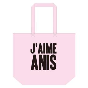 Anis xTommy ��J�� AIME ANIS�� TOTE BAG L��BABY PINK��